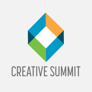 The logo for the Creative Summit project created in part by Andre Casey